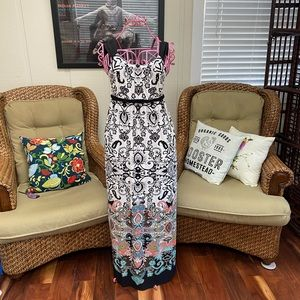 Beautiful Maggy L Maxi Dress Size 4